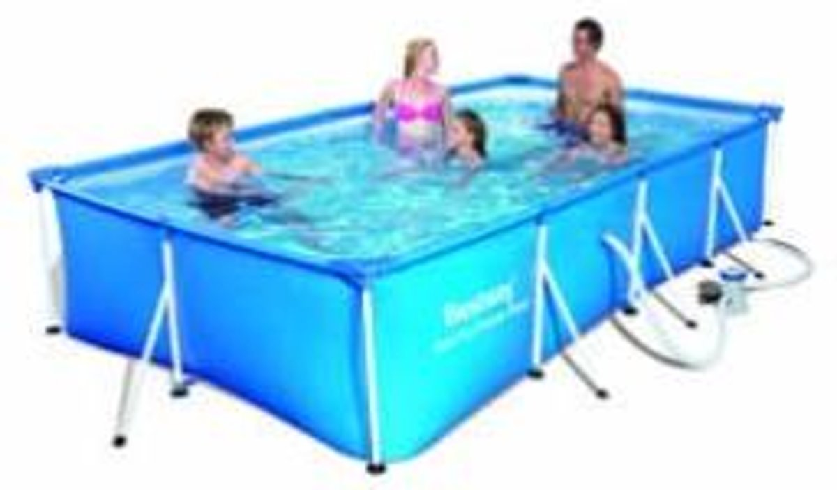 4.0m x 2.11m x 81cm 5700L Fam. Splash Frame Pool +