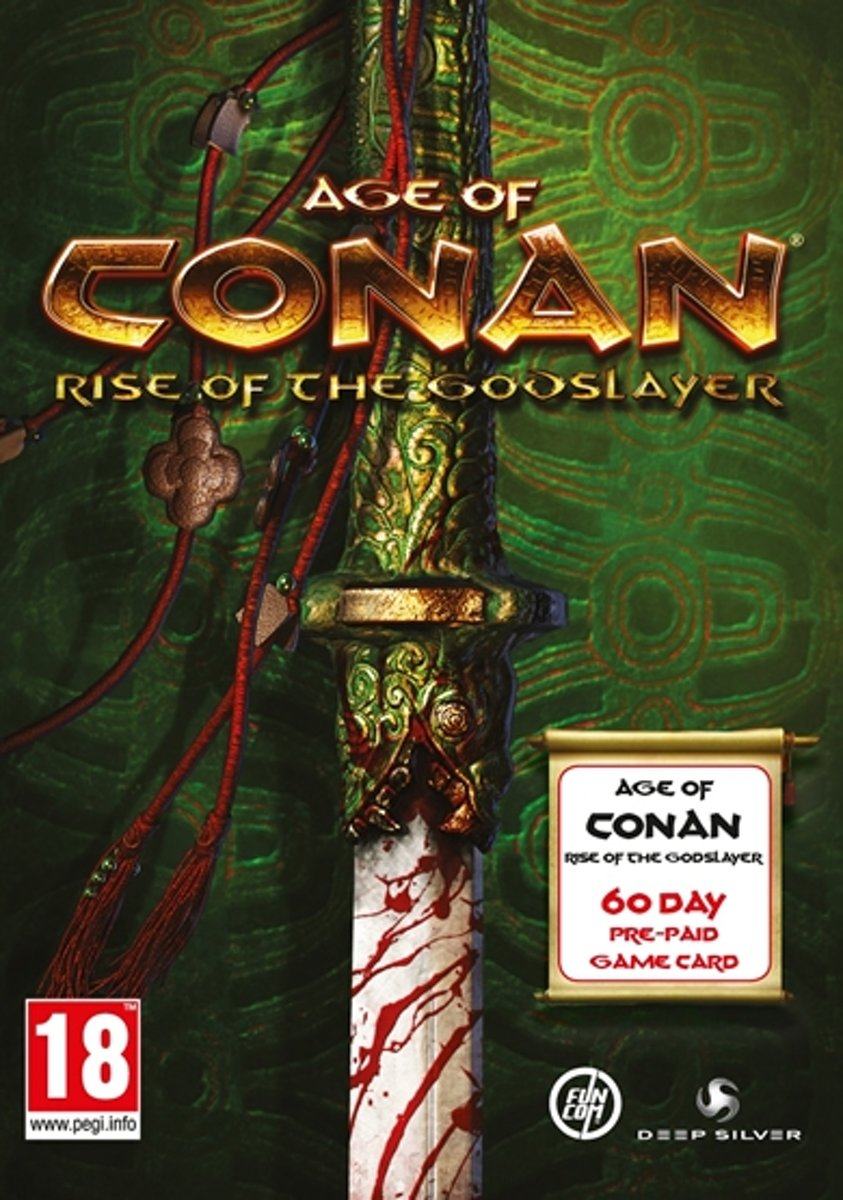 Age of Conan: Rise of the Godslayer - 60 dagen Time Card