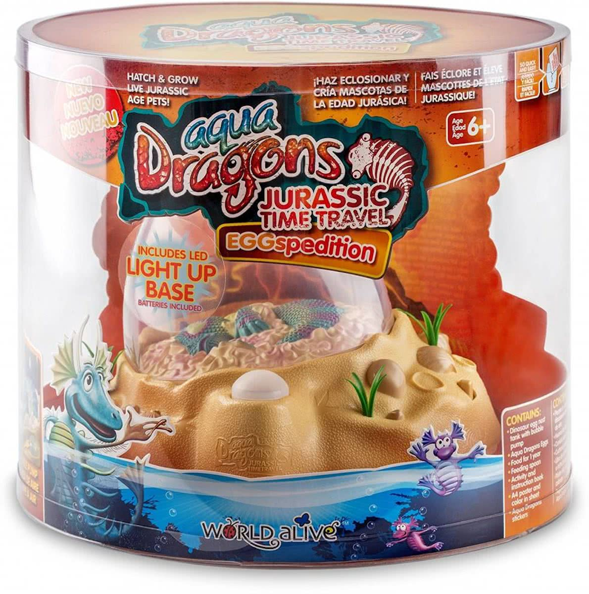 Aqua Dragons Jurasic Eggspedition LED.