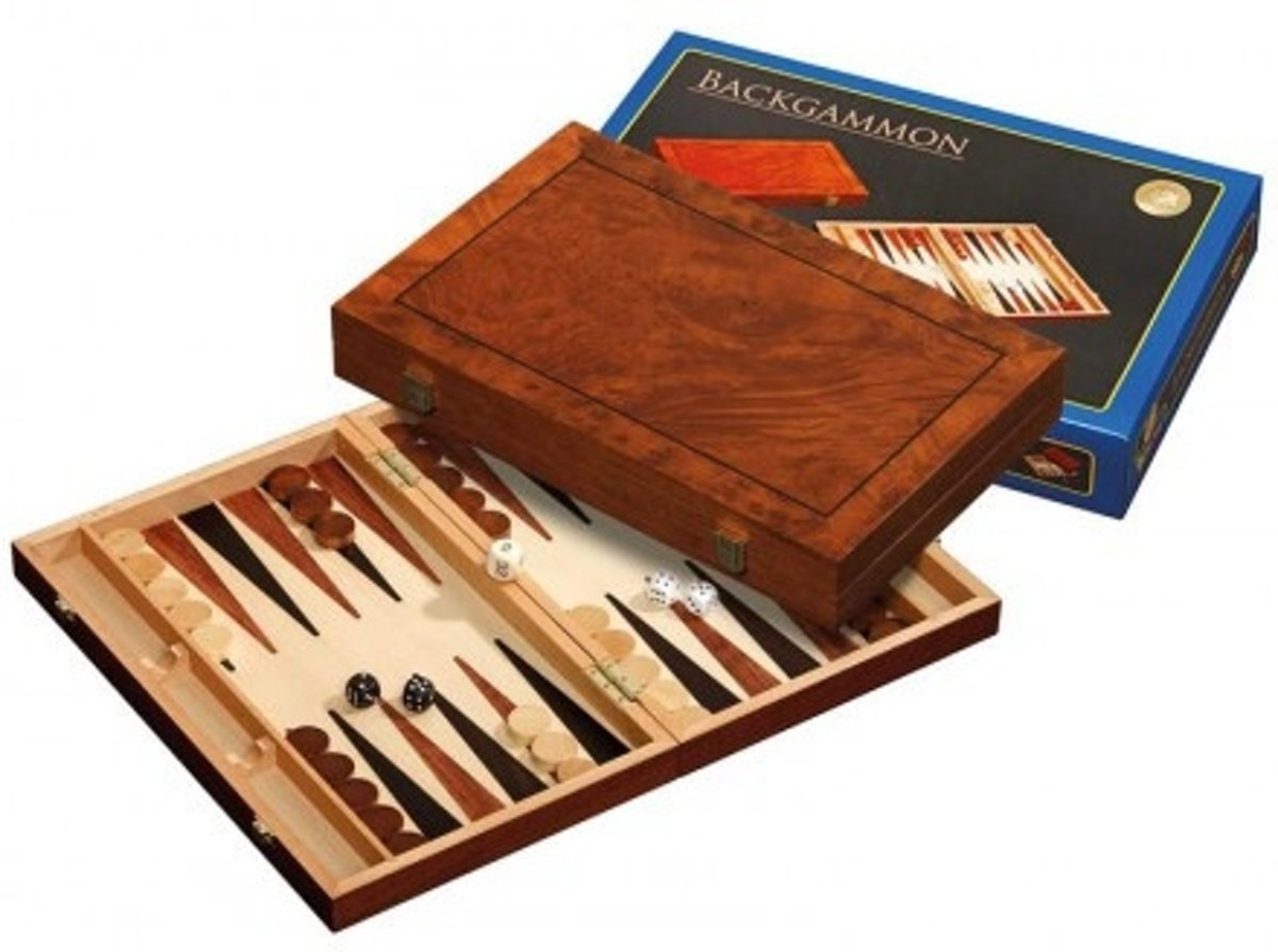 Backgammon Kassette Astypalia