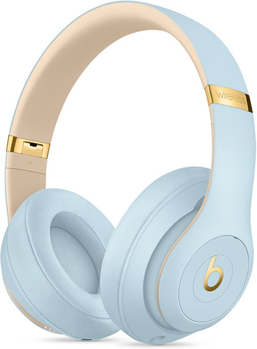 Beats Studio3 Wireless-koptelefoon - Beats Skyline Collection: kristalblauw