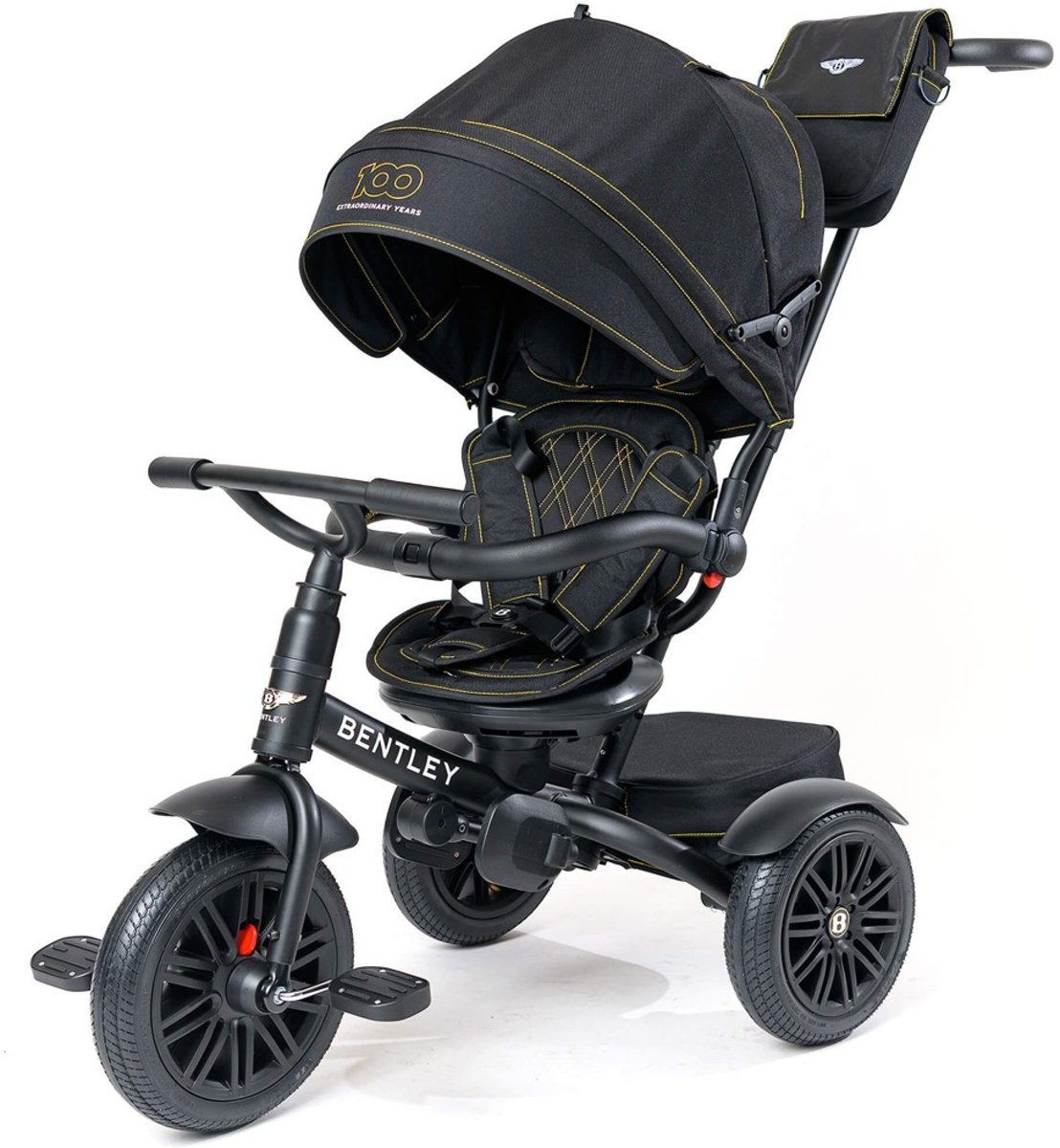 Bentley Tricycle 6 in 1   en Buggy - Limited Edition Black