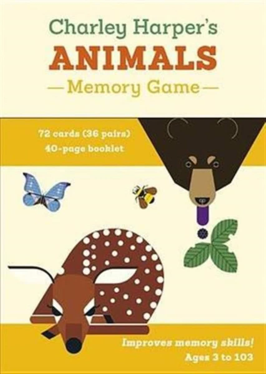 Charley Harpers Animals Memory Game Mg014