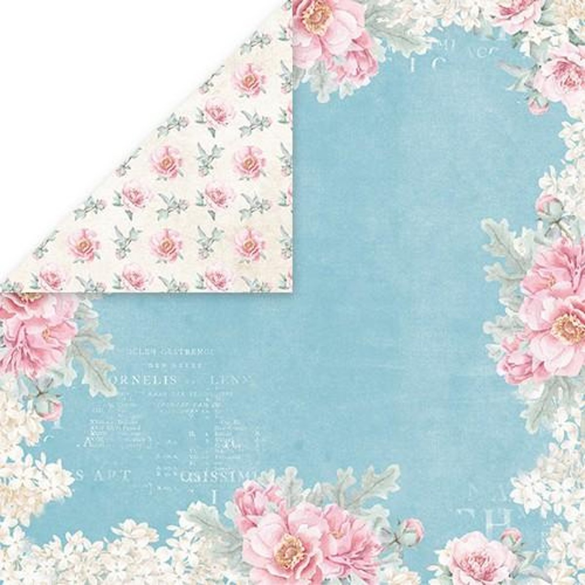 Craft&You Pastel Wedding single paper 12x12 inch