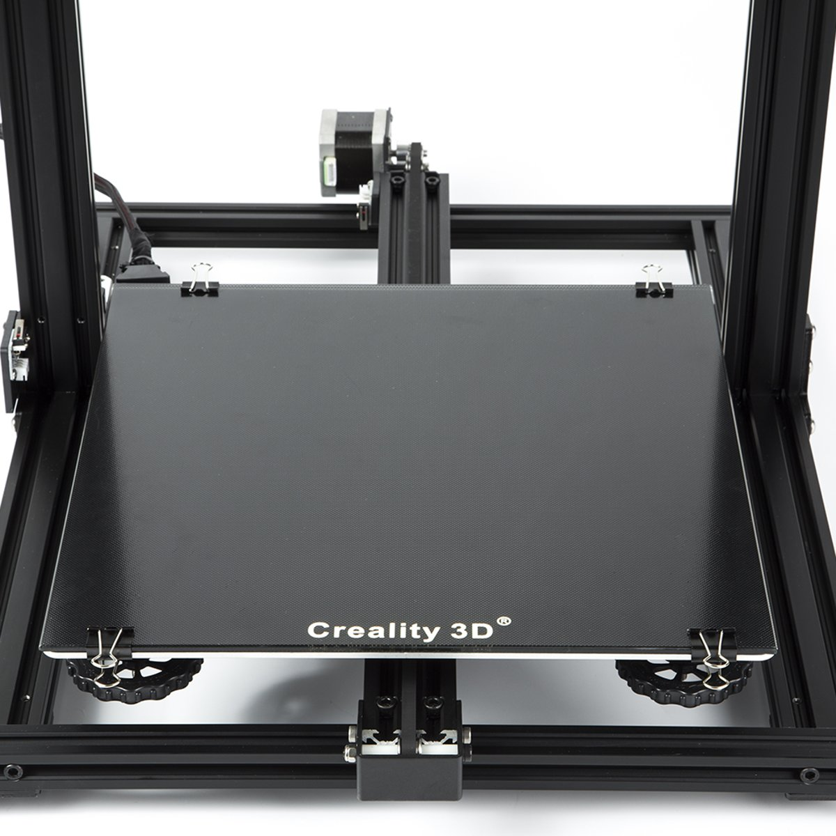 Creality CR-10/CR-10S bed upgrade getemperd glas met speciale coating