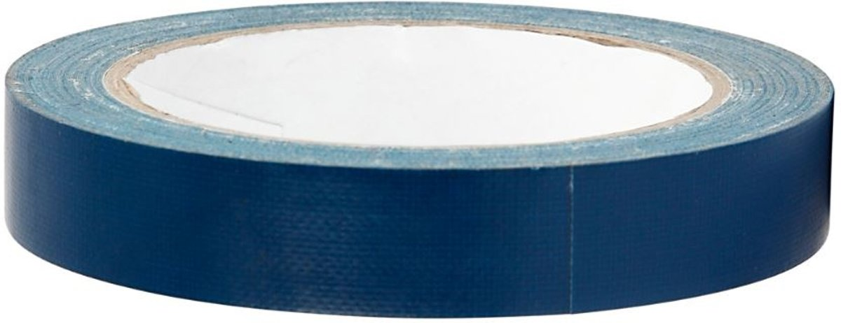 Creotime Canvastape 25 Meter X 19 Mm Blauw