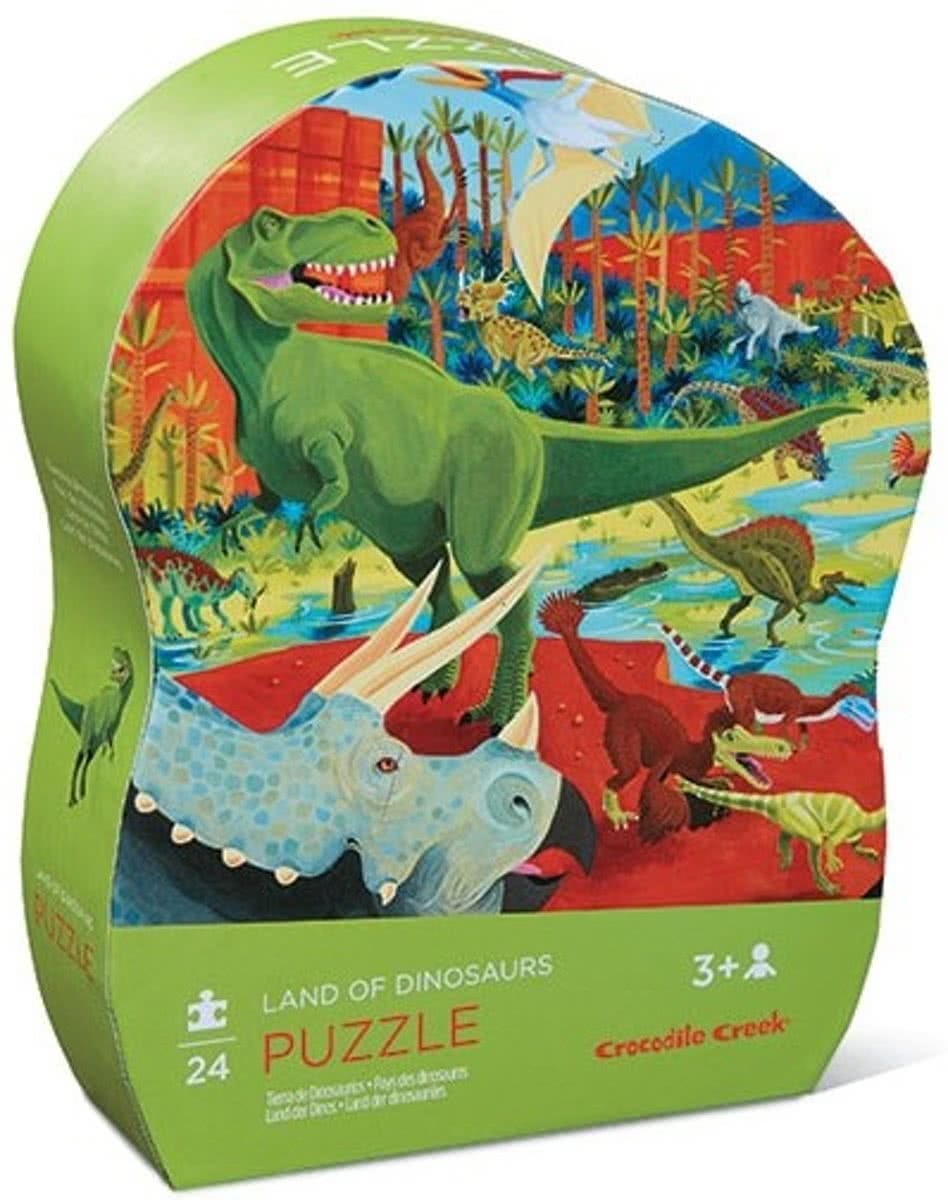 Crocodile Creek Puzzel Dinosaurus