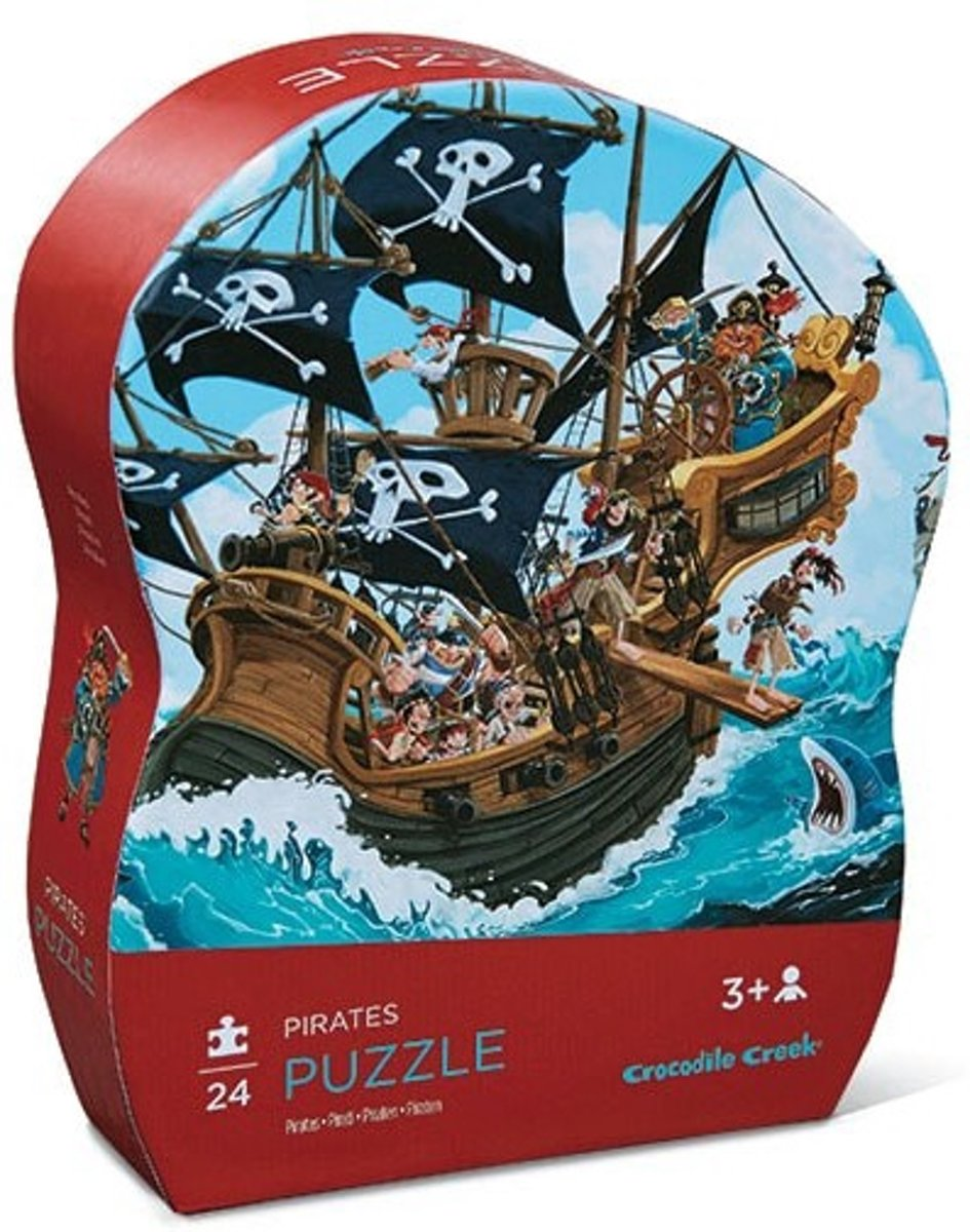 Crocodile Creek Puzzel Piratenschip