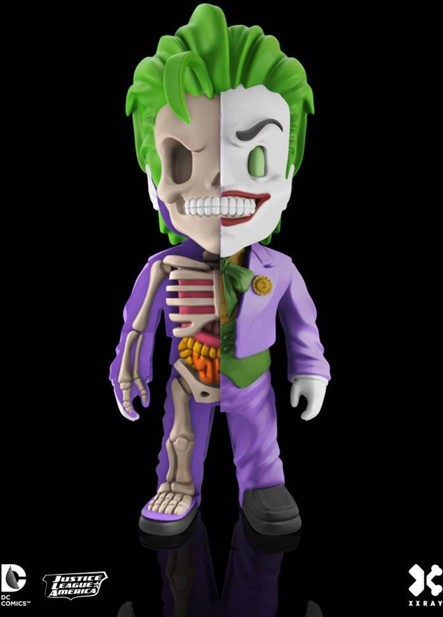 DC Comics: Joker X-Ray Figurine