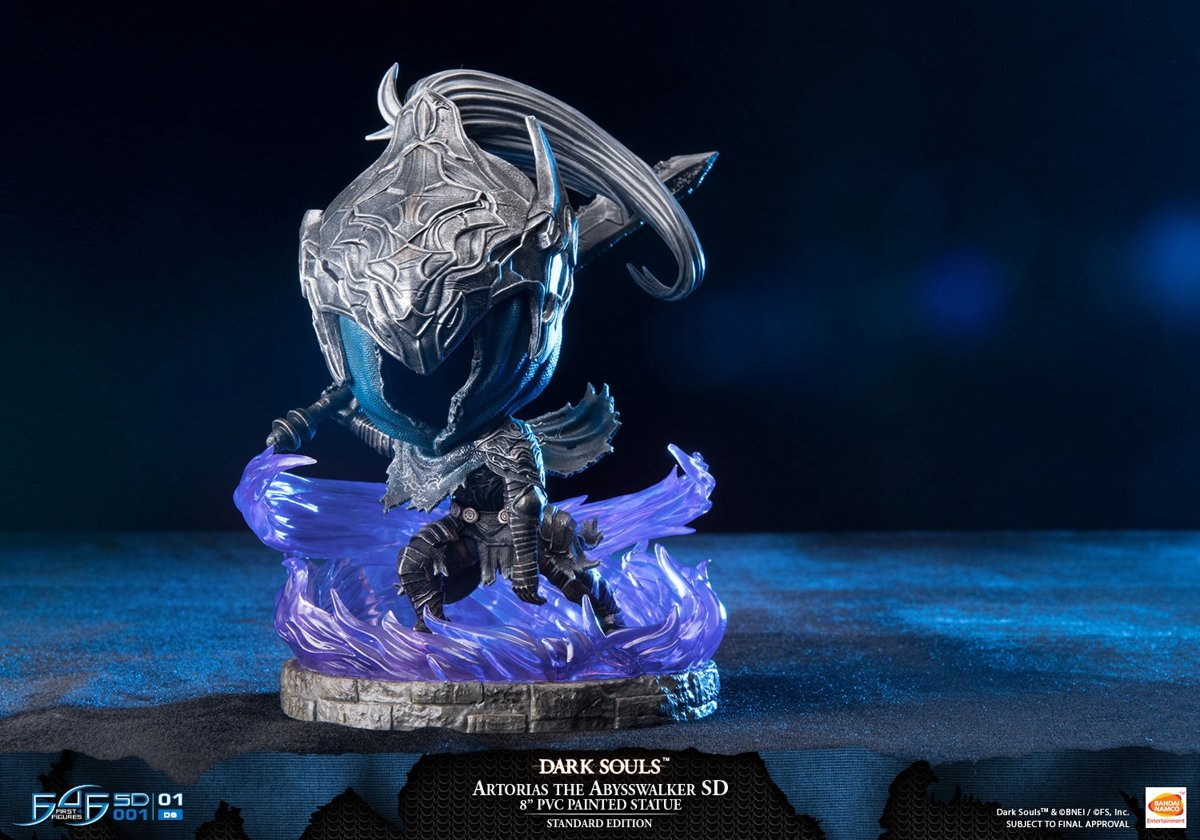 Dark Souls - Artorias the Abysswalker SD PVC Statue 20 cm