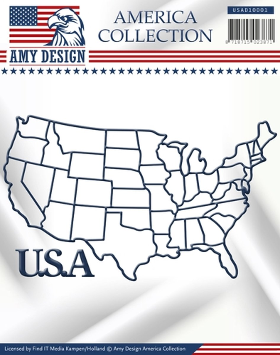 Die - Amy Design - America Collection - USA