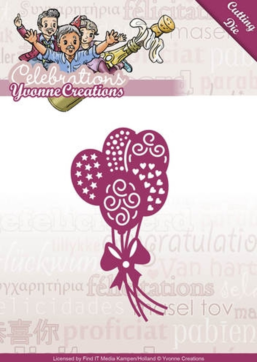 Die - Yvonne Creations - Celebrations - Balloons