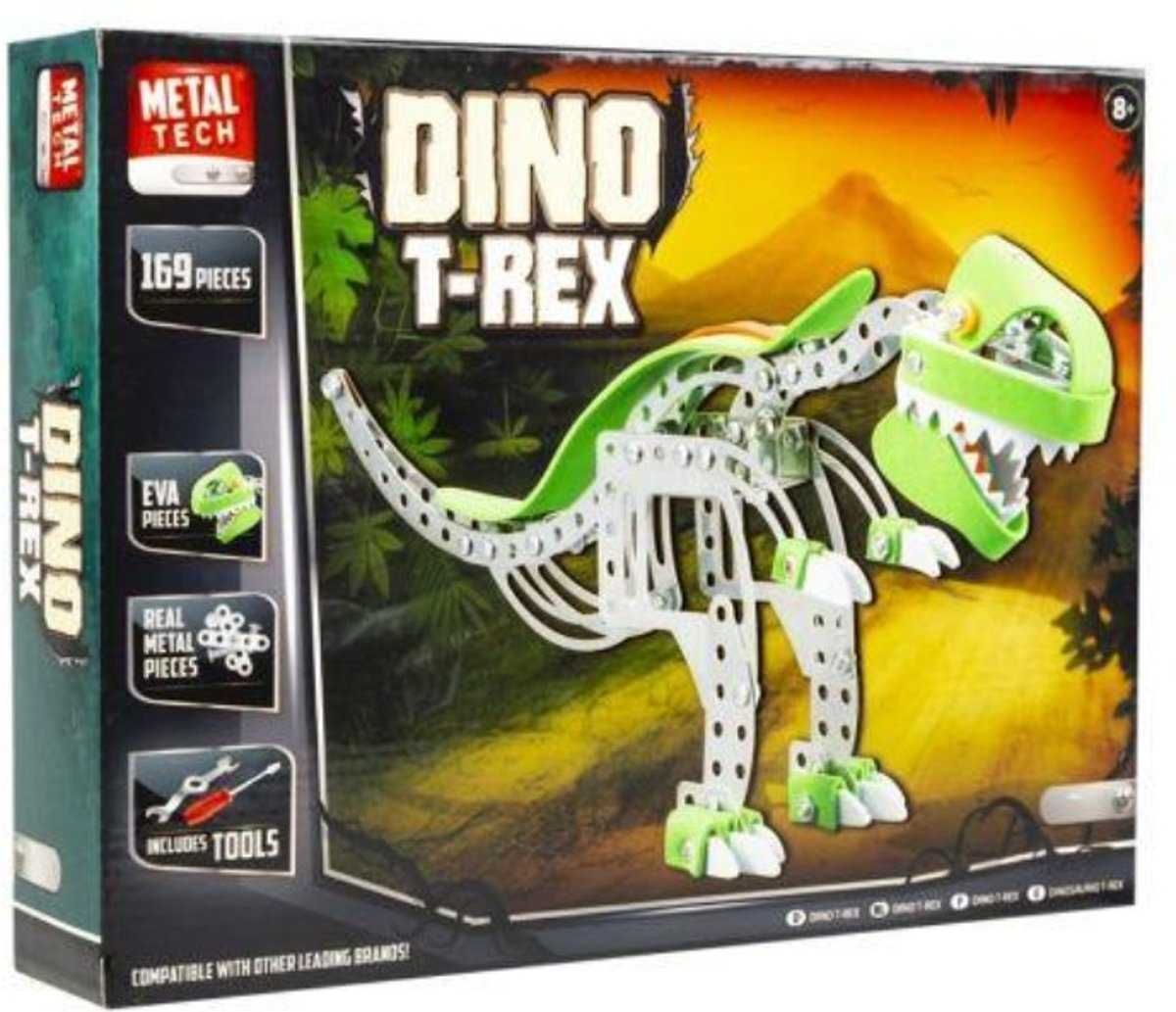 Dino T-Rex Metal tech