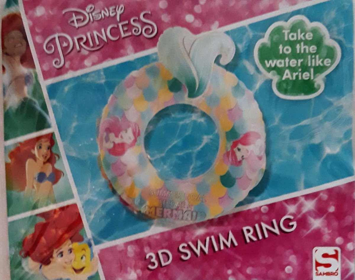 Disney Princess 3d Zwemring