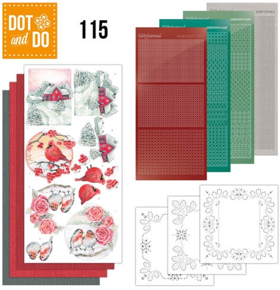 Dot and Do 115 Jeaniness Art - Winter Classics