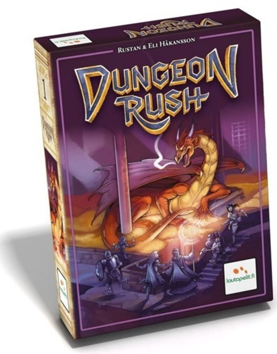 Dungeon Rush, Lautapelit Bordspel