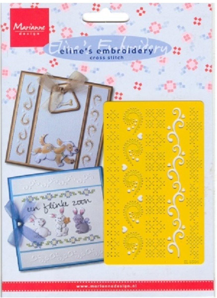 Elines embroidery mal - El 8504 Cross stitch