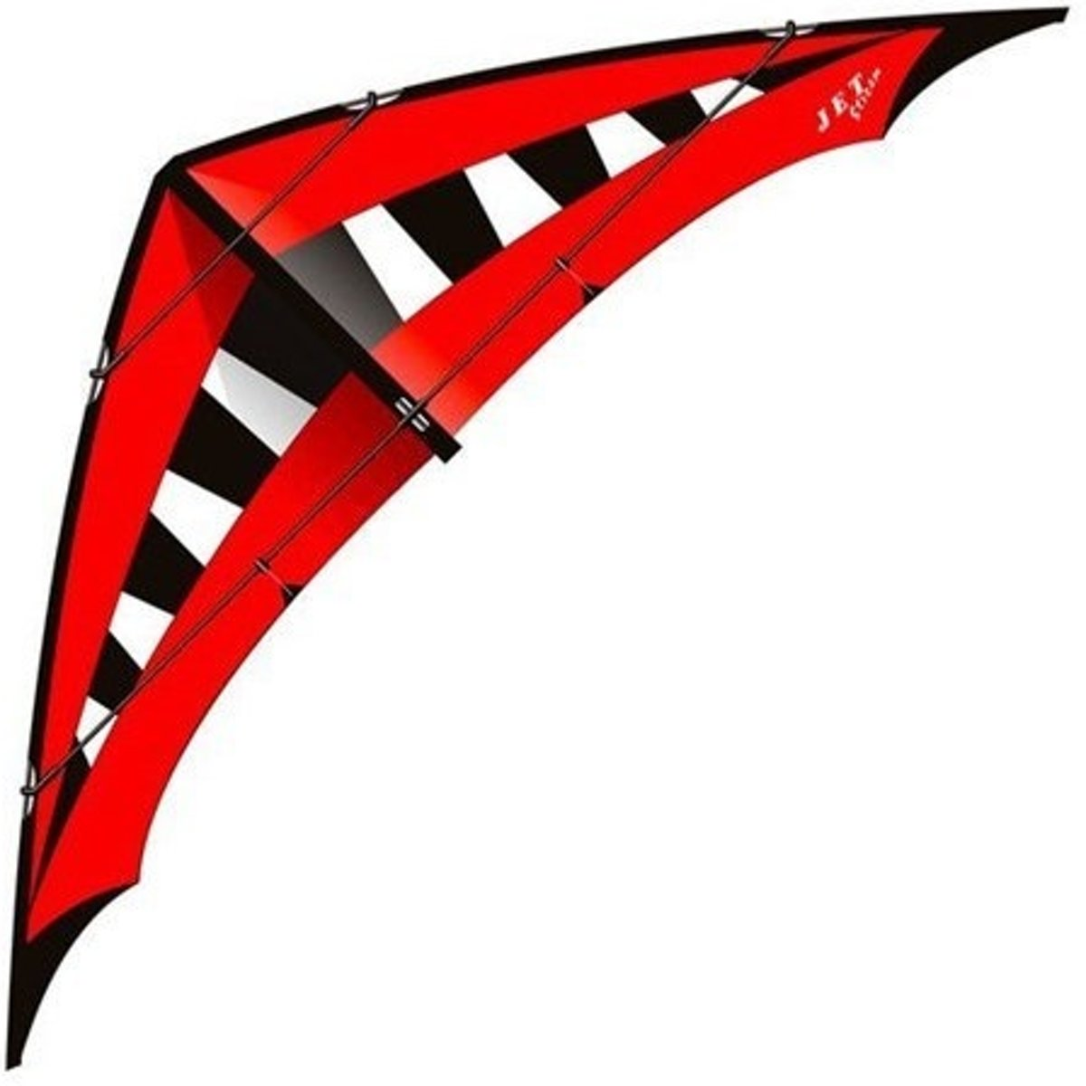 Elliot tweelijnsstuntkite Jet Stream Speed Reloaded 200 cm rood
