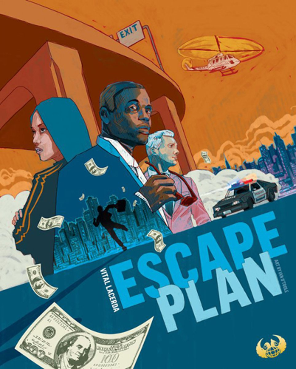 Escape Plan Board Game