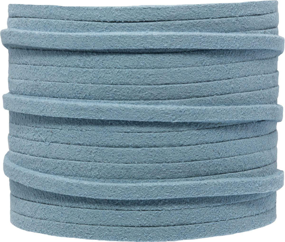 Faux Suede Veter (3 mm) Porcelain Blue (5 Meter)