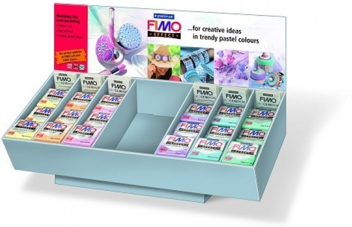 Fimo Display effect pastel 6 kleuren (72 ST) 8093 V5DS 03
