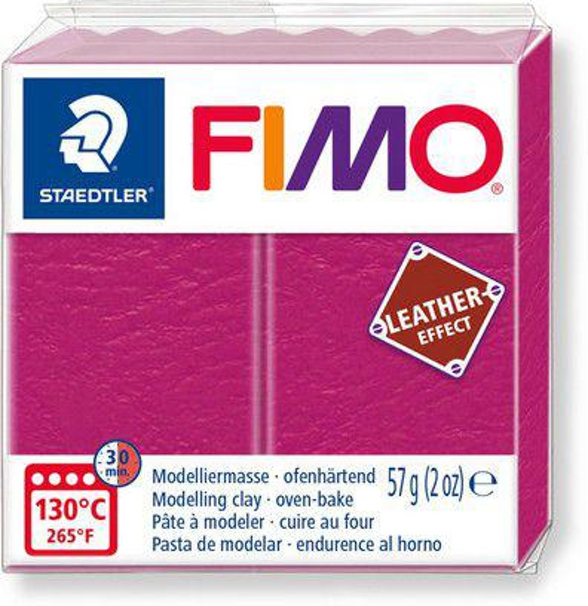 Fimo Effect leather 57 g bes 8010-229