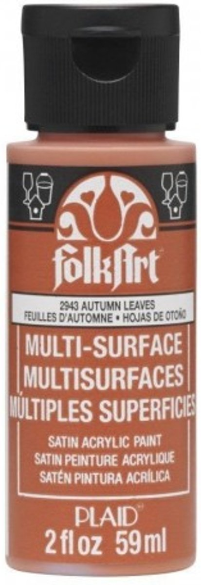 FolkArt • Multi-Surface paint autumn leaves 59ml