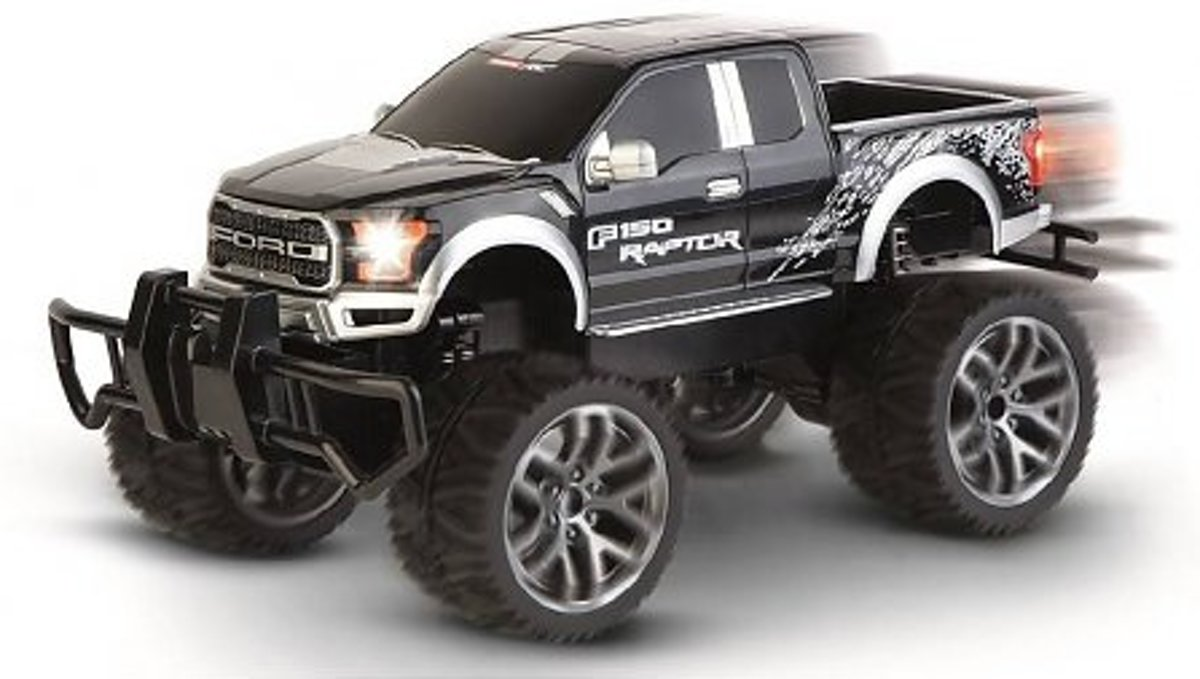 Ford F-150 Raptor, black