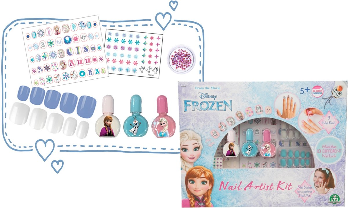 Frozen - Kit Nail Artist