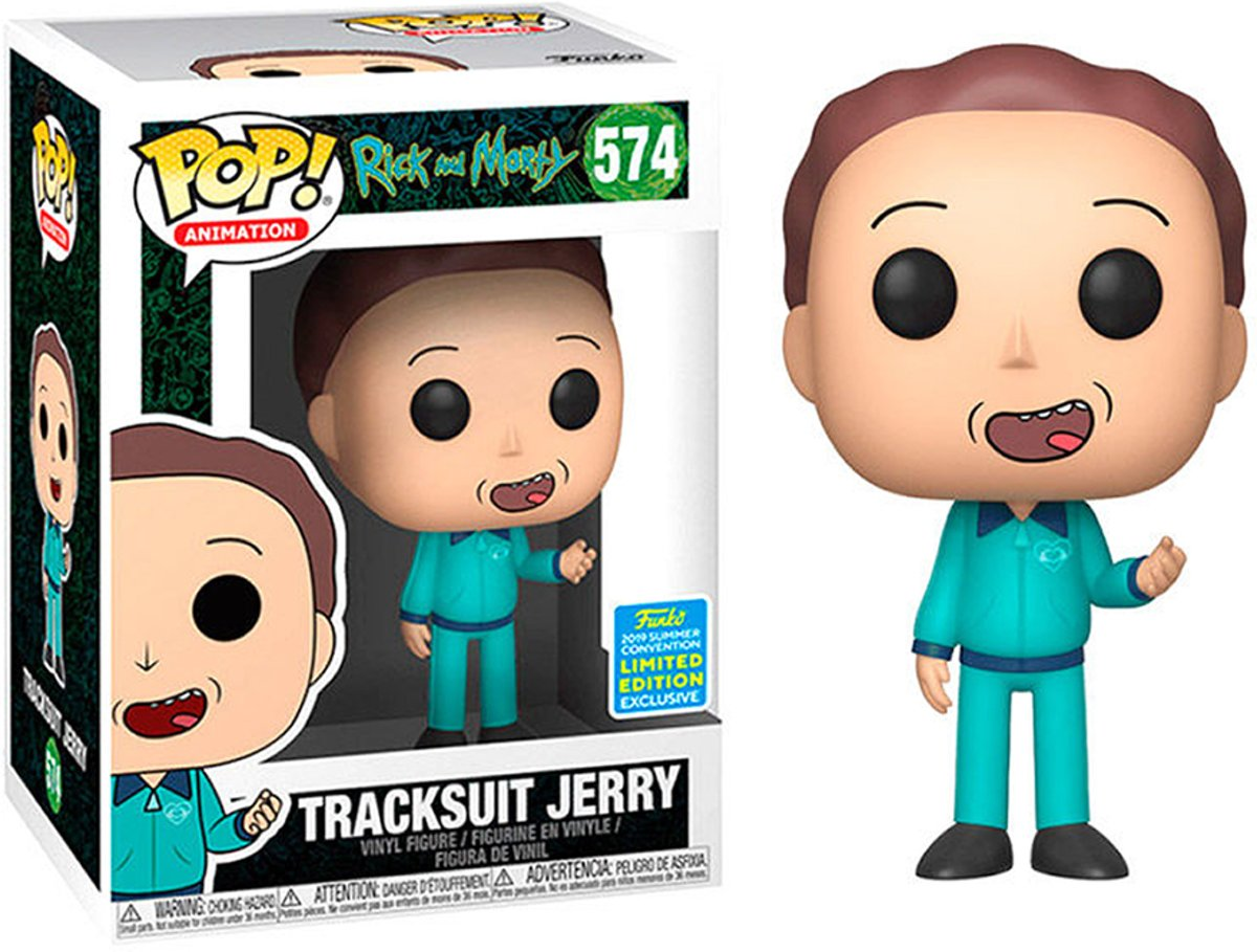 Funko Pop SDCC 2019 Exclusive: Rick & Morty - Tracksuit Jerry