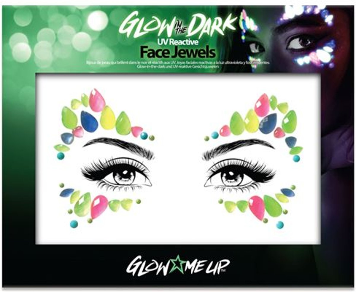 Glow in the dark Face jewels