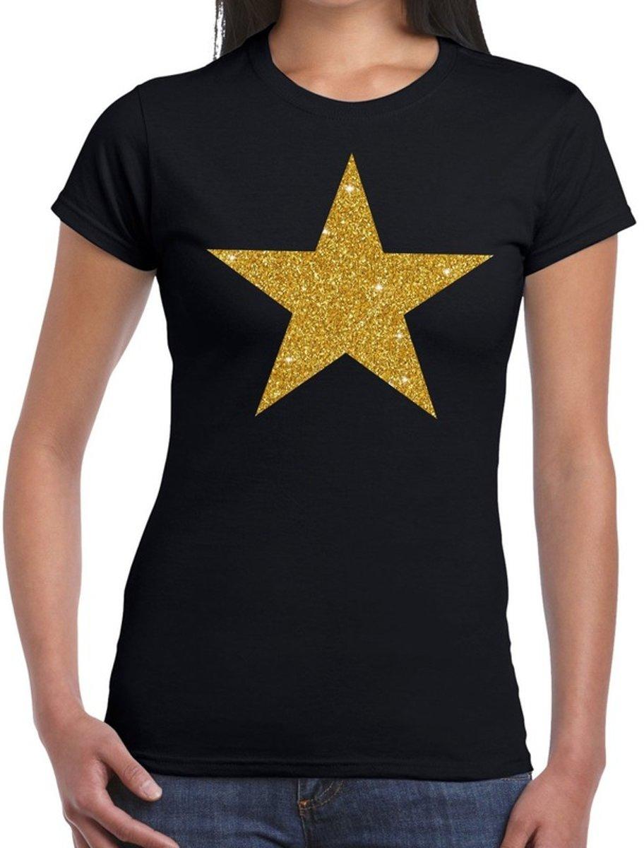 49c0effcb402d4 Gouden ster glitter fun ...