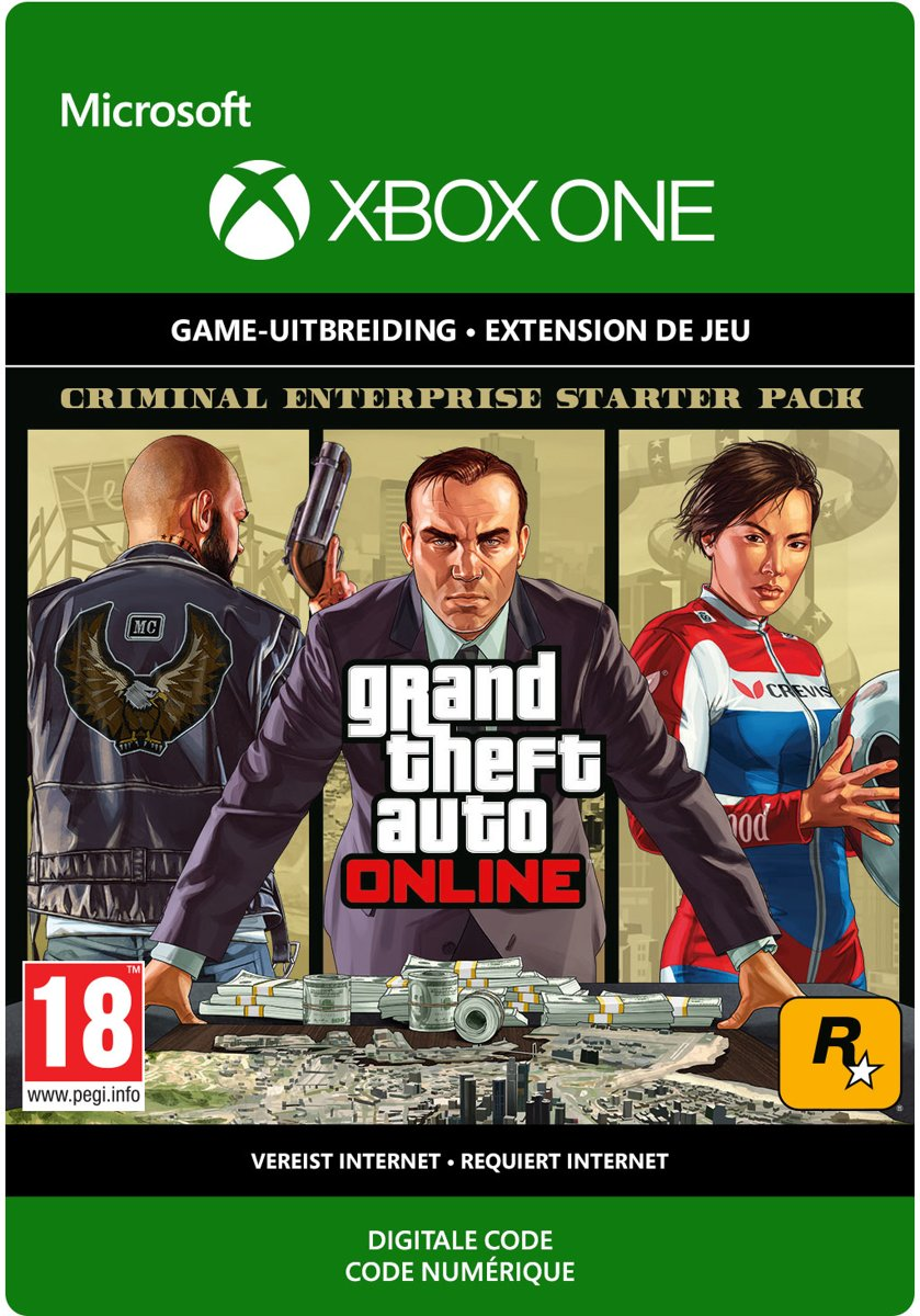Grand Theft Auto V (GTA 5): Criminal Enterprise Starter Pack- Add-on - Xbox One download