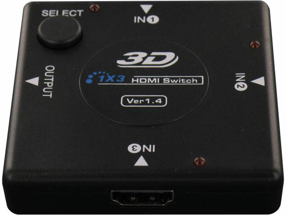 HDMI Switch - 3 poorts