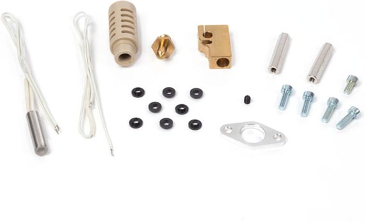 HOTEND ASSEMBLY SPAREPART SET (FOR K8400 VERTEX 3D PRINTER)