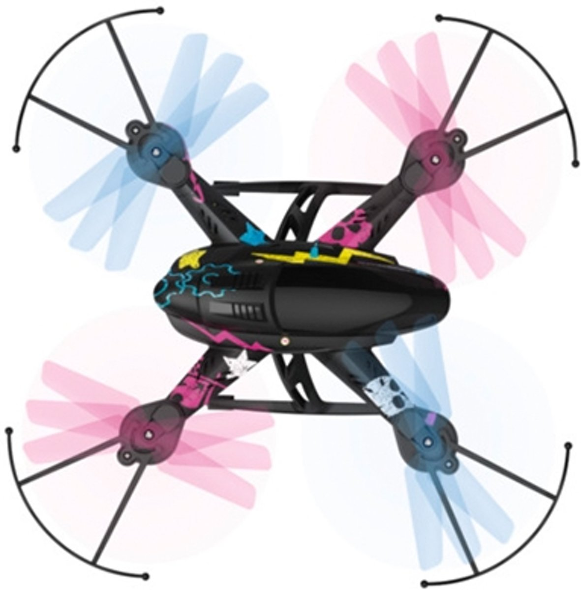 Hama Looptastic camera - Drone Quadcopter - 215 x 215 x 75 mm