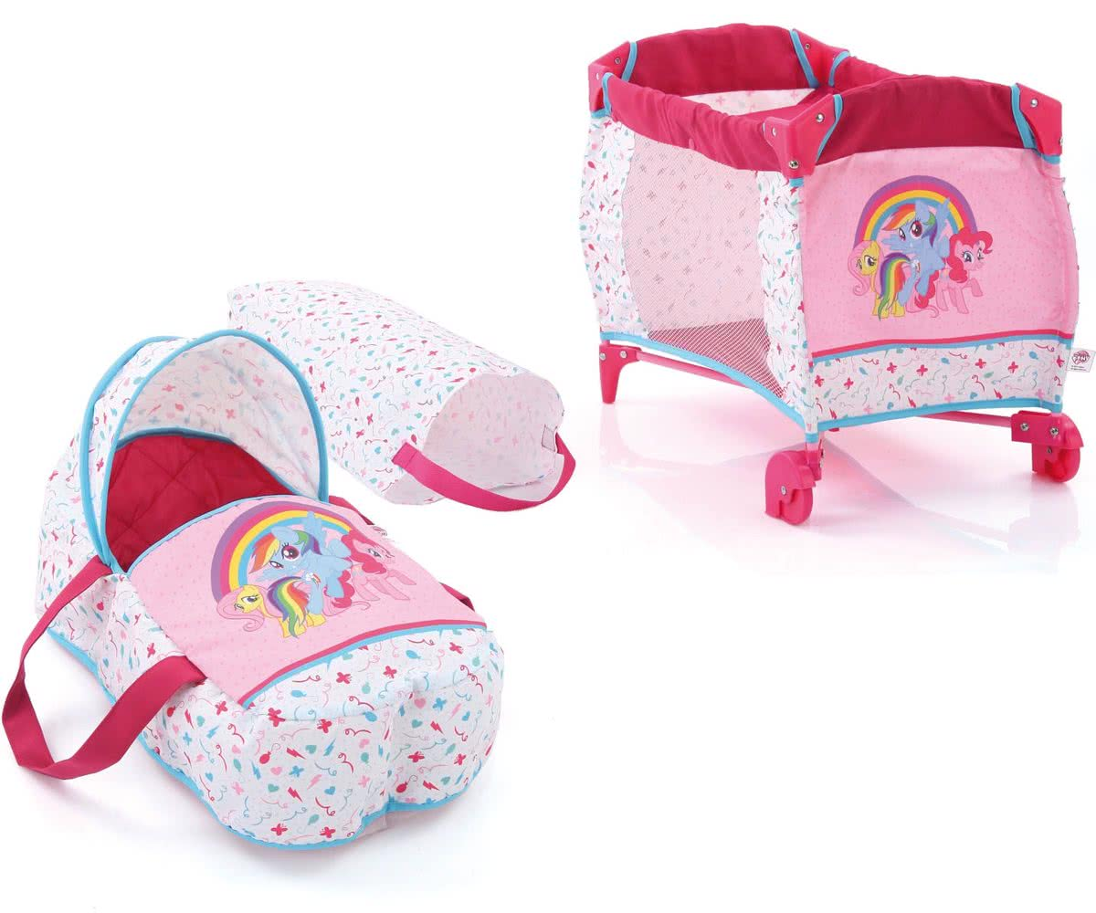 Hauck My Little Pony Baby Bed en Reiswieg