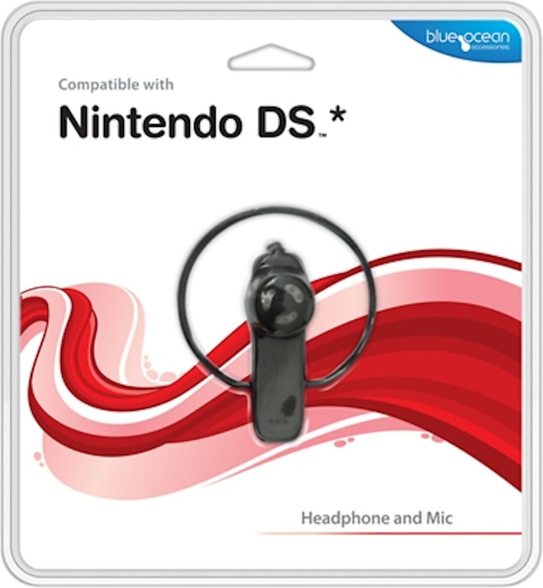 Headphone And Mic Black Nds (Blue Ocean)