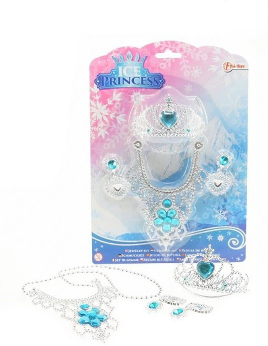 IcePrincess Sieradenset op blisterkaart 4-ass.*