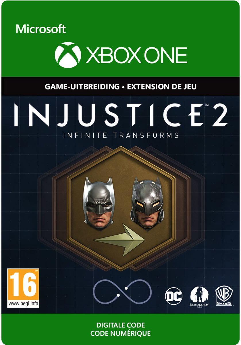 Injustice 2: Legendary Edition - Infinite Transforms - Add-On - Xbox One