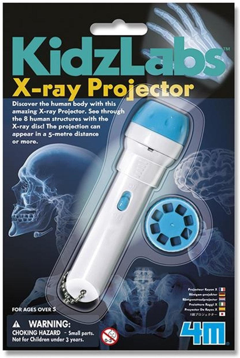 KidzLabs: X-Ray Projector 20 cm wit