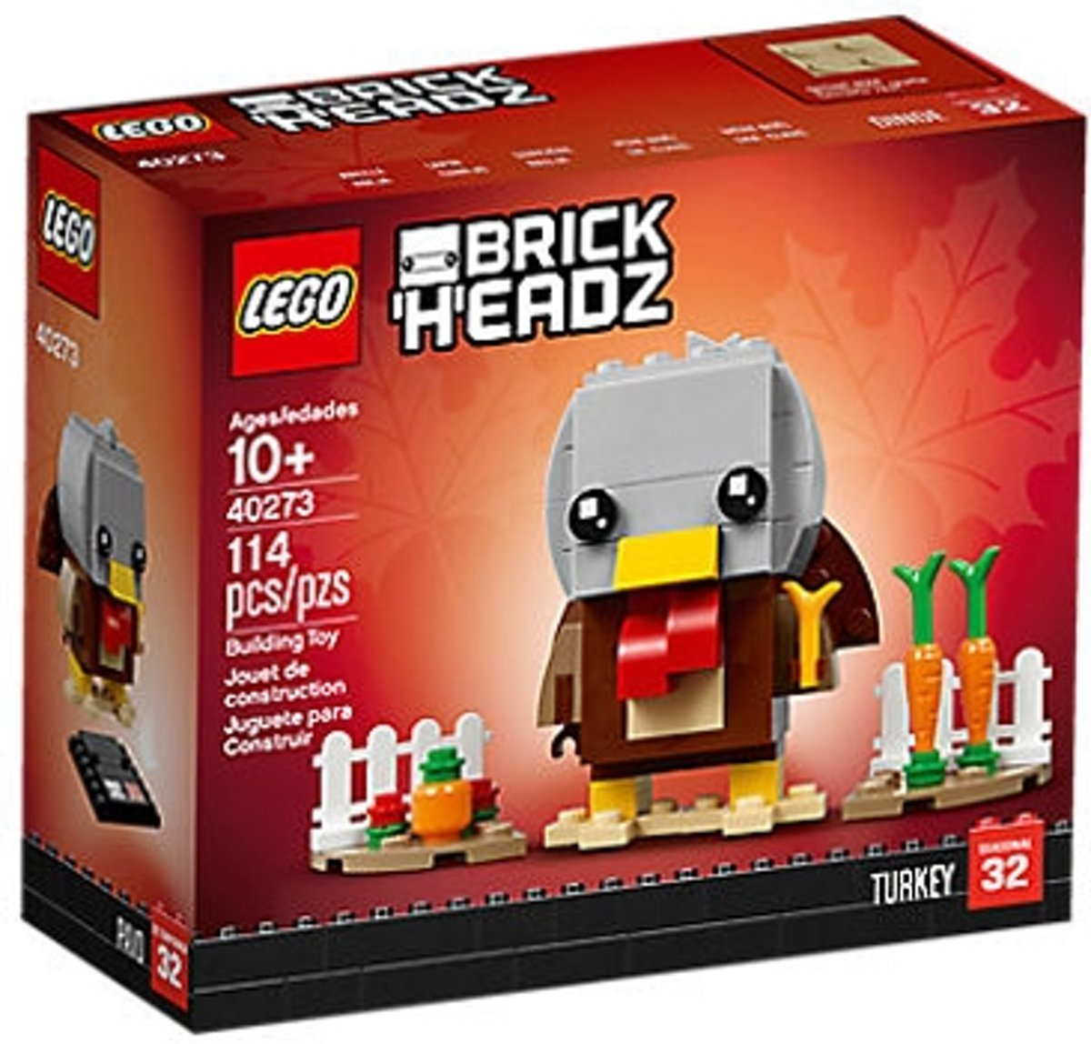 LEGO BrickHeadz™ 40273 Thanksgiving-kalkoen