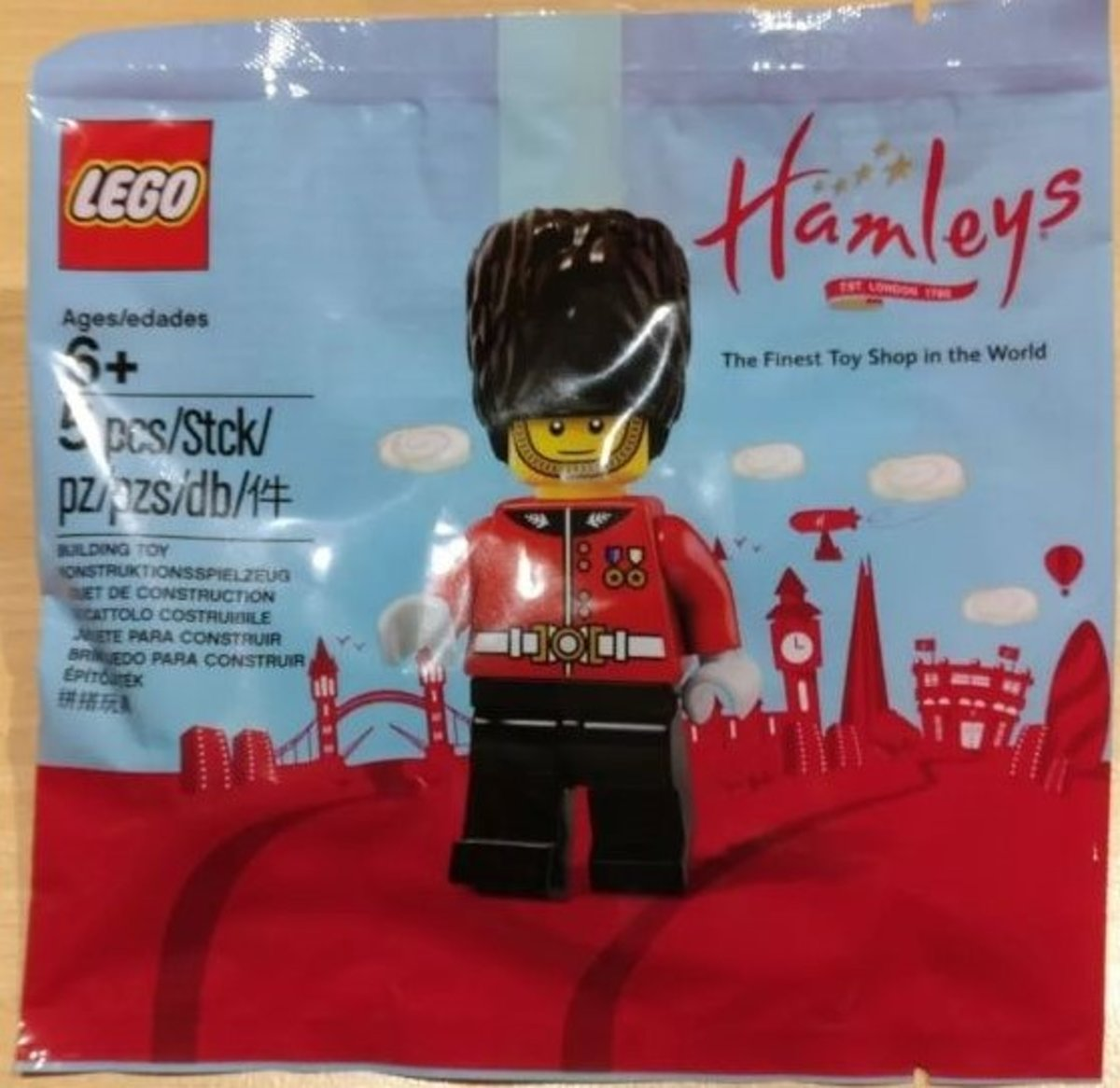 Lego Hamleys Royal Guard (polybag) 5005233