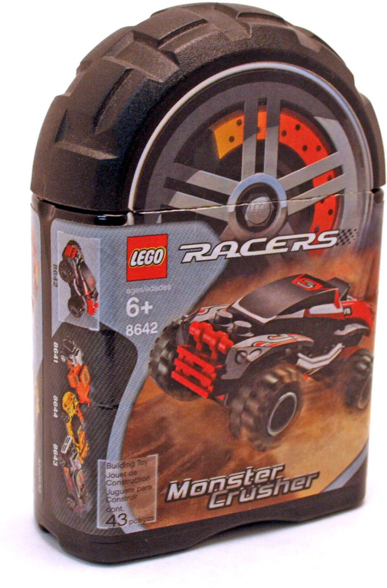 Lego Racers Monster crusher - 8642