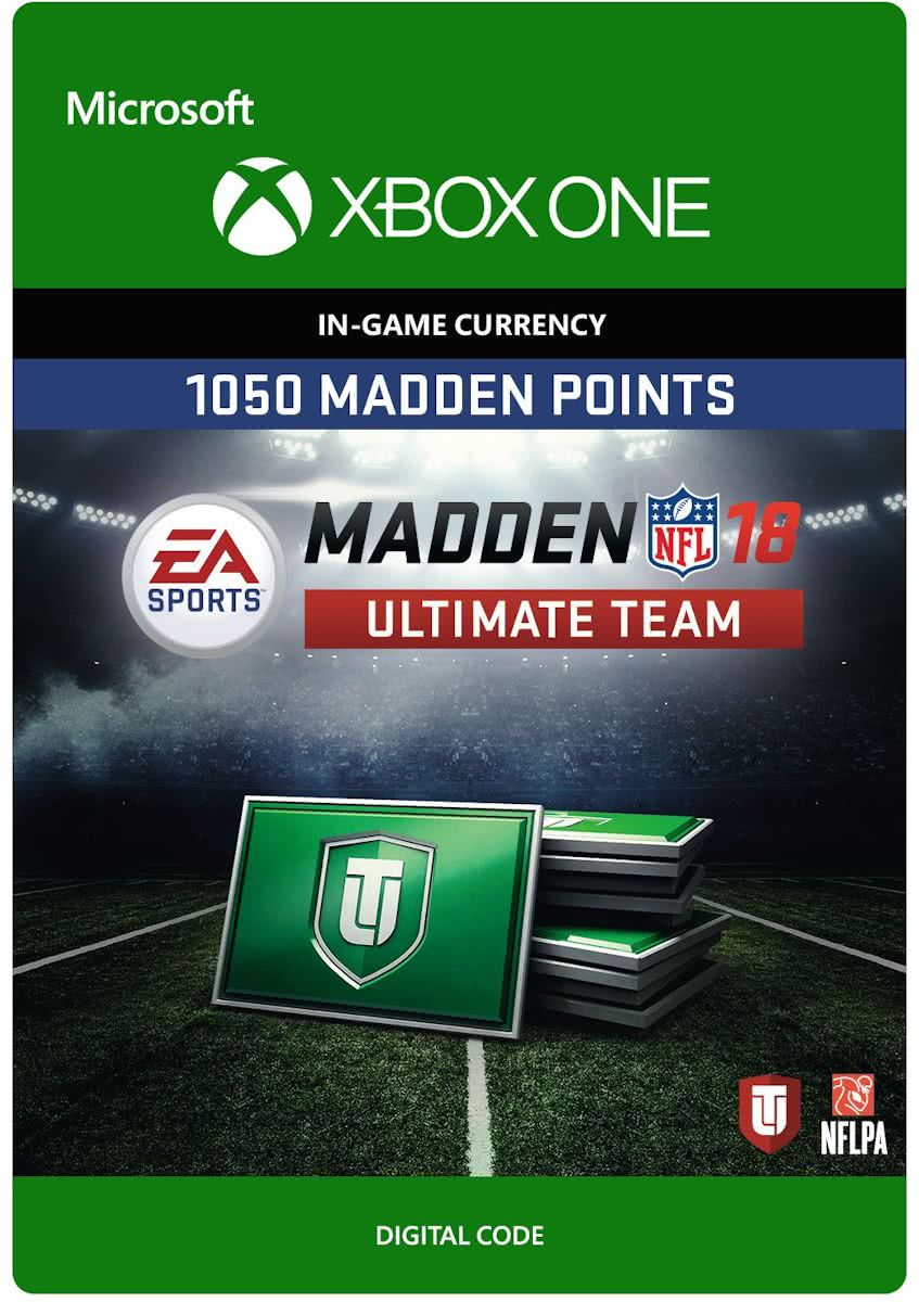 Madden NFL 18 - 1.050 Madden Ultimate Team Punten - Xbox One