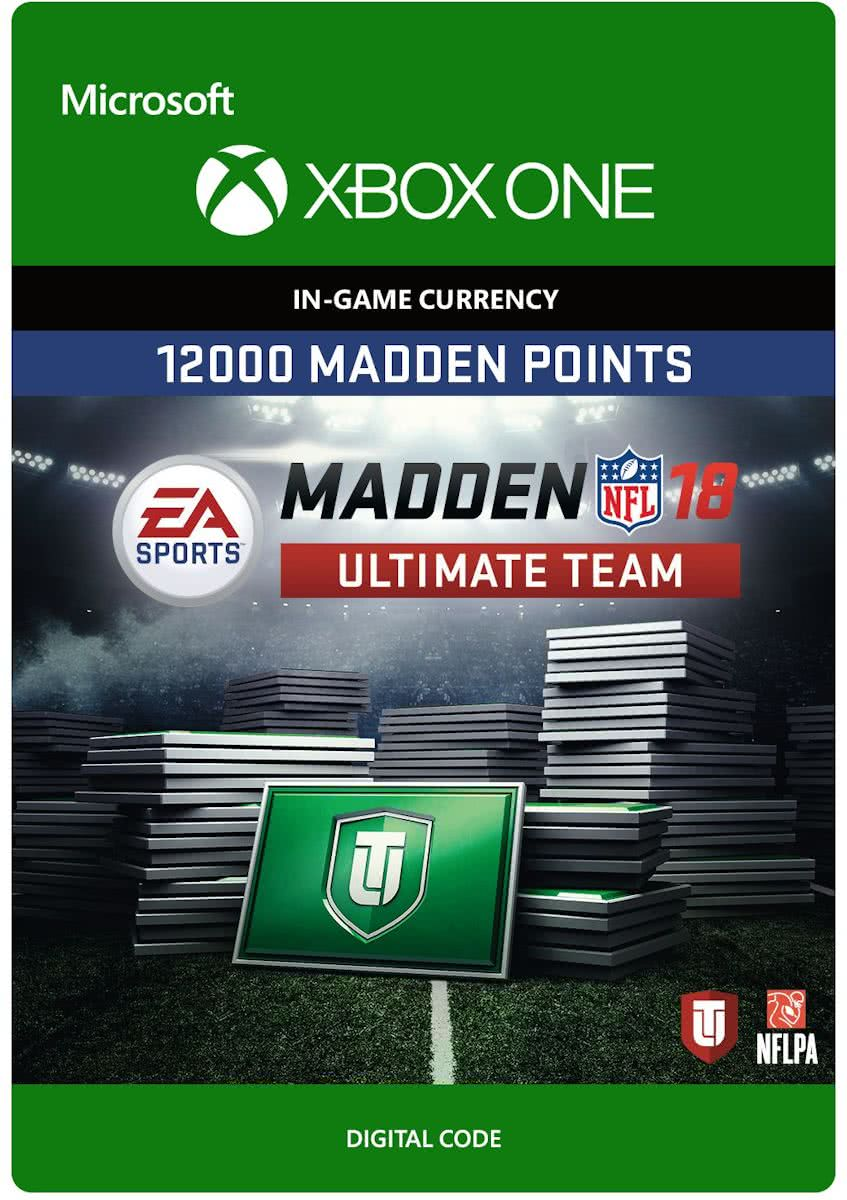 Madden NFL 18 - 12.000 Madden Ultimate Team Punten - Xbox One
