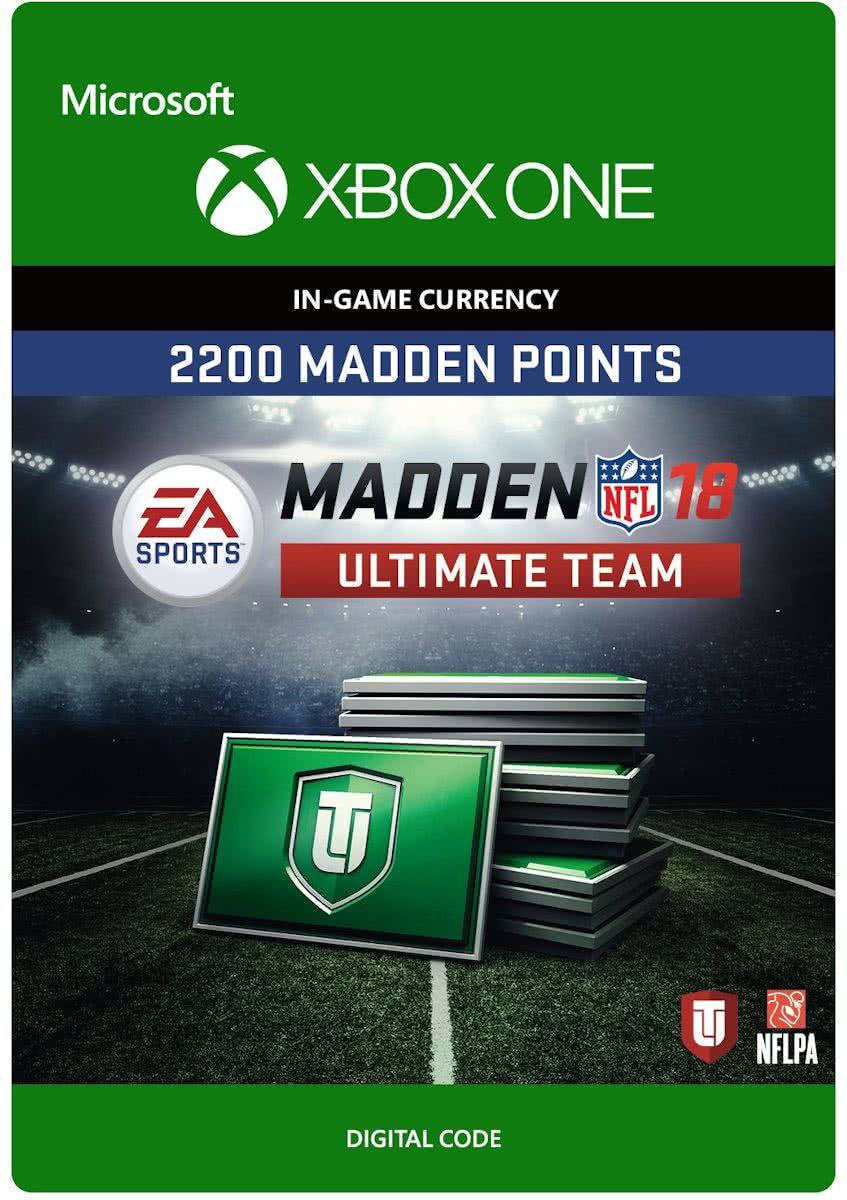 Madden NFL 18 - 2.200 Madden Ultimate Team Punten - Xbox One