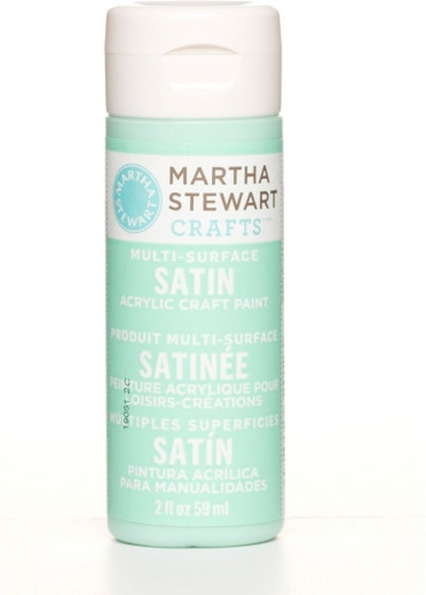 Martha Stewart • satin paint 59ml beach glass
