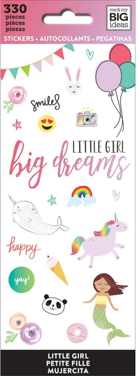 Me and My Big Ideas - Happy Planner Stickers - Little Girl