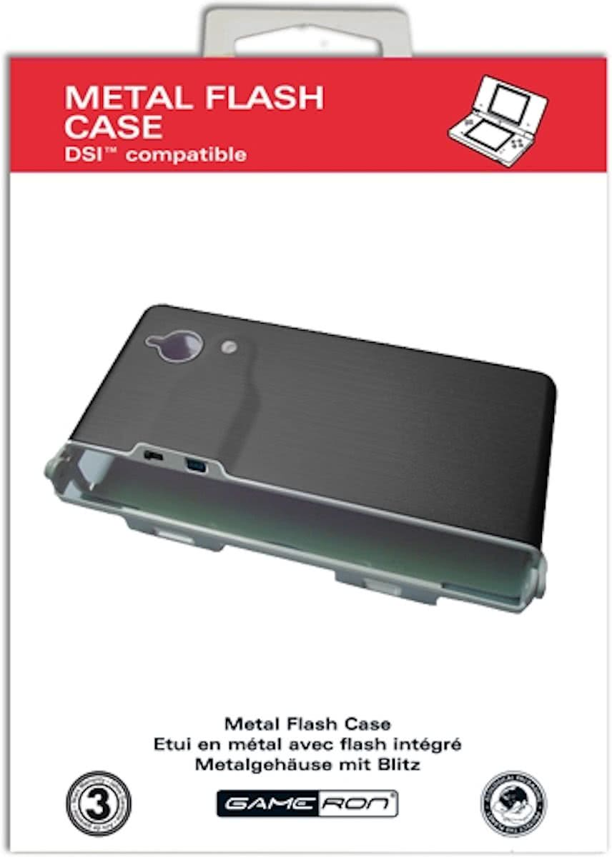 Metal Case DSi - Zwart